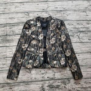 NWT Bird by Juicy Couture Joni Peplum Jacket